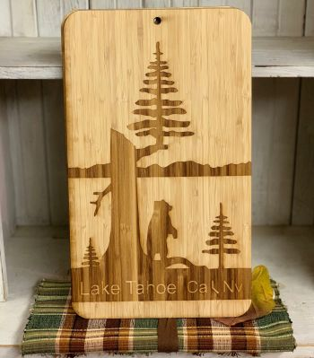 The Robin's Nest Lake Tahoe, Handmade Lake Tahoe Cutting Board