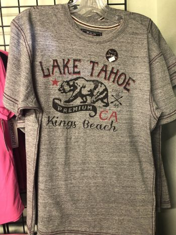 The Robin's Nest Lake Tahoe, Lake Tahoe T-Shirts